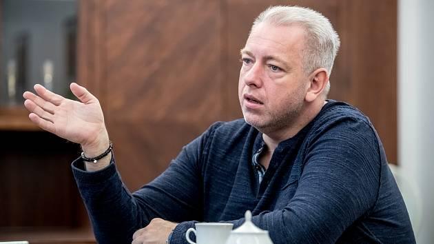 Milan Chovanec poskytl 1. února v Praze rozhovor Deníku.