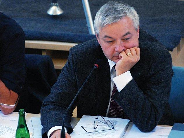 Primátor Pardubic Jaroslav Deml.
