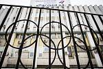 Sídlo Ruského olympijského výboru v Moskvě.