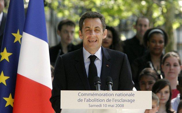 Sarkozy pronesl svůj projev při oslavách zrušení otroctví v Lucemburských zahradách