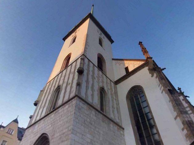 Kostel sv. Jakuba v Brně.
