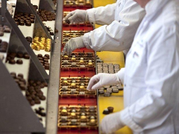 Švýcarský výrobce čokolády Lindt & Sprüngli. Ilustrační foto.