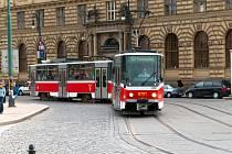 Tramvaj v Praze. Ilustrační snímek