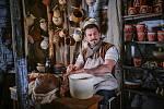 Ondřej Vetchý při natáčení pohádky Tajemství staré bambitky 2