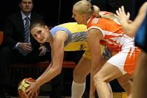 Basketbalistky ZVVZ USK Praha v Evropské lize podlehly v domácí hale na Folimance favorizovanému ruskému týmu Jekatěrinburgu 59:74.