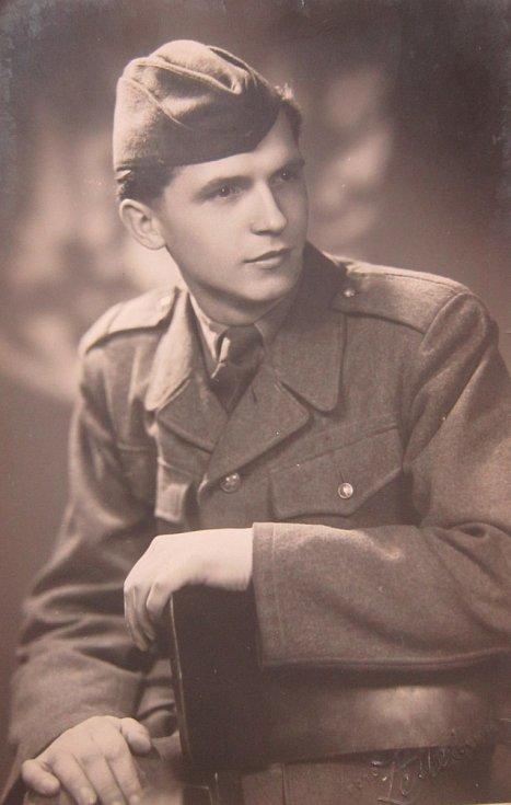 Adolf Kůrka v roce 1948 v československé armádě