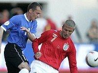 Estonsko - Anglie: Beckham, Terehhov
