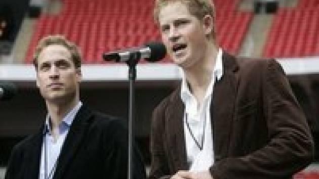 Koncert pro Dianu: Harry a William