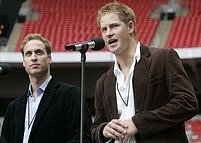 Koncert pro Dianu: Harry a William