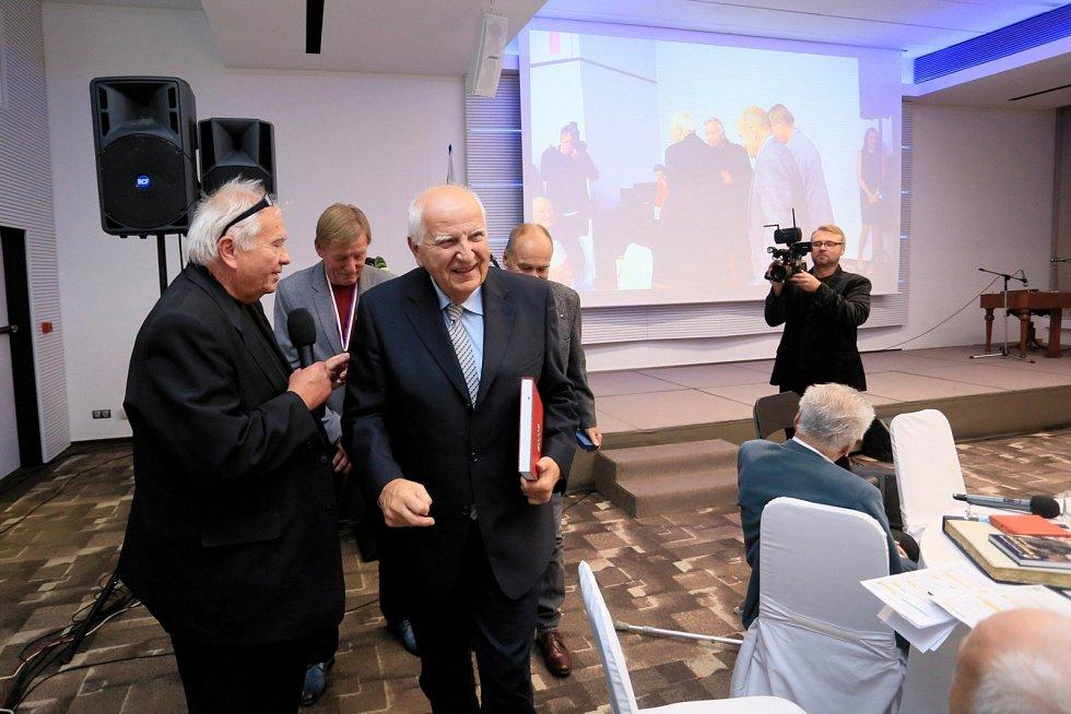 Ota Černý na galavečeru Brněnského roku sportu