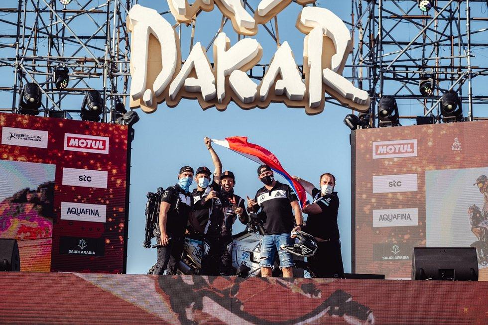 Libor Podmol na Rallye Dakar