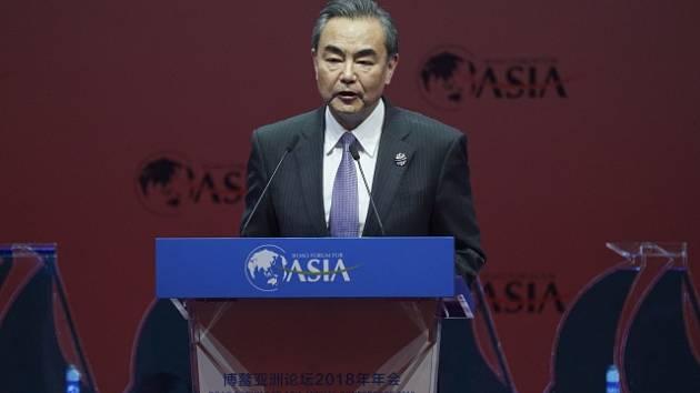 Čínský ministr zahraničí Wang I