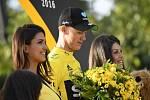 Chris Froome vyhrál potřetí Tour de France.