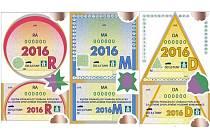 Dálniční kupóny pro rok 2016