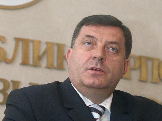 Premiér Republiky srbské Milerad Dodik