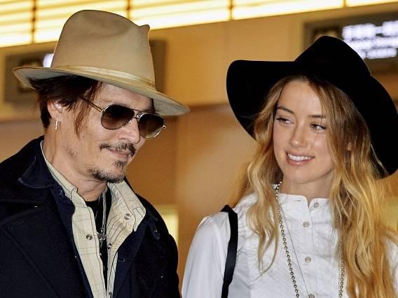 Johnny Depp a Amber Heardová.