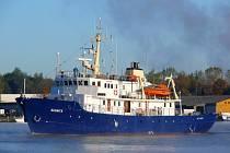Loď C-Star na které se plavili pravicoví extremisté