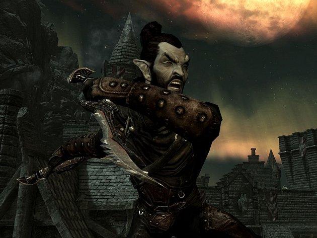 Počítačová hra The Elder Scrolls: Skyrim.