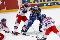 Zápas Česka proti Švédsku