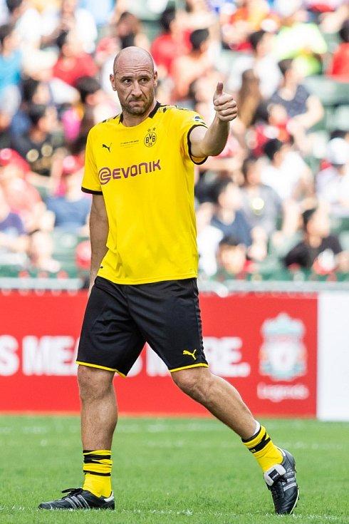 Jan Koller v dresu Borussie Dortmund