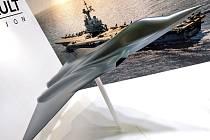 Model stíhačky nové generace společnosti Dassault