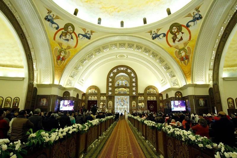 Do nové katedrály se vejde osm tisíc lidí.