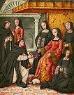 Královna Anna Bretaňská kolem roku 1506