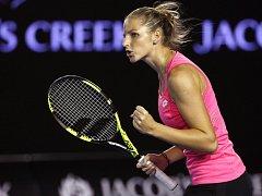 Kristýna Plíšková na Australian Open.