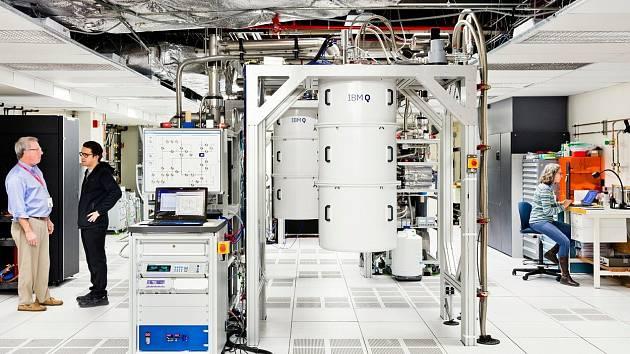 Kvantový počítač společnosti IBM
