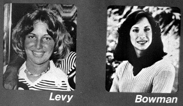 Oběti. Tyto dvě studentky vrah Ted Bundy zabil při běsnění na koleji sesterství Chi Omega na Floridě.