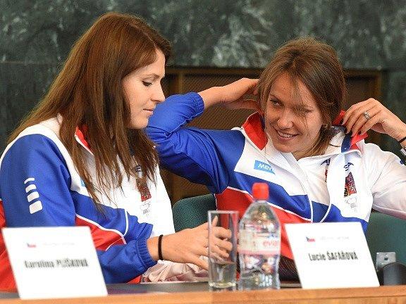 Lucie Šafářová a Barbora Strýcová