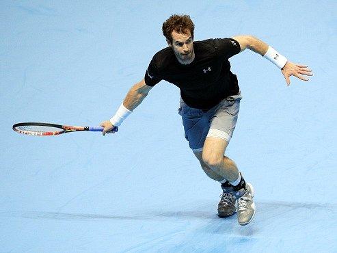 Andy Murray na Turnaji mistrů