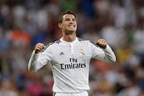 Cristiano Ronaldo slaví gól