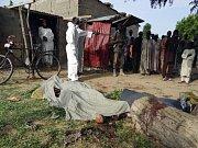 Násilí v Nigérii.