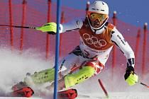 Ondřej Berndt na olympijské trati