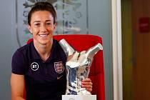 Fotbalistka Lucy Bronzeová.