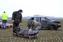 Při nehodě u Medlešic na Chrudimsku vyhasl život mladé řidičky