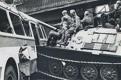 Ruští vojáci v Praze