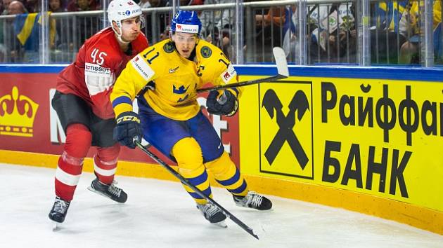 Finálový zápas Švédska a Švýcarska