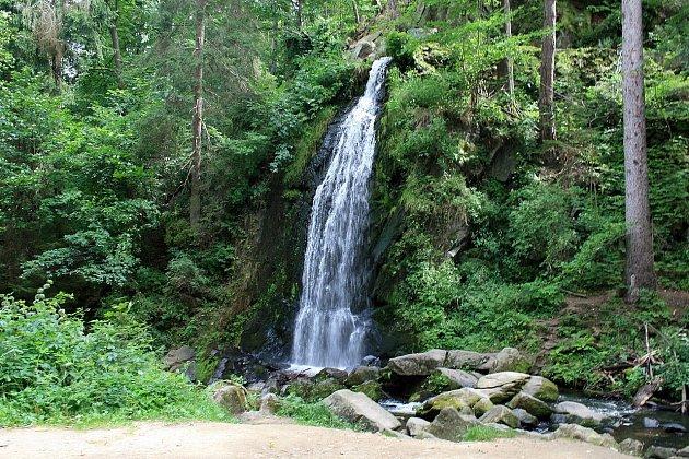 Vodopád vTerčině údolí