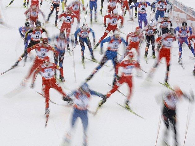 Běh na lyžích - ilustrační foto.