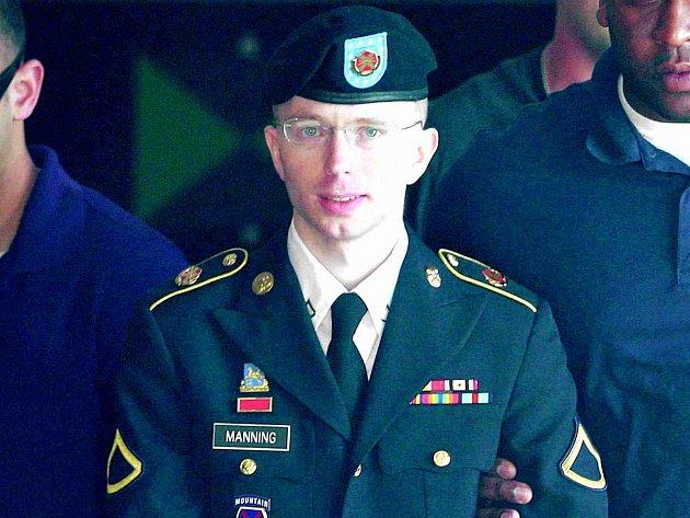 Americký vojín Bradley Manning