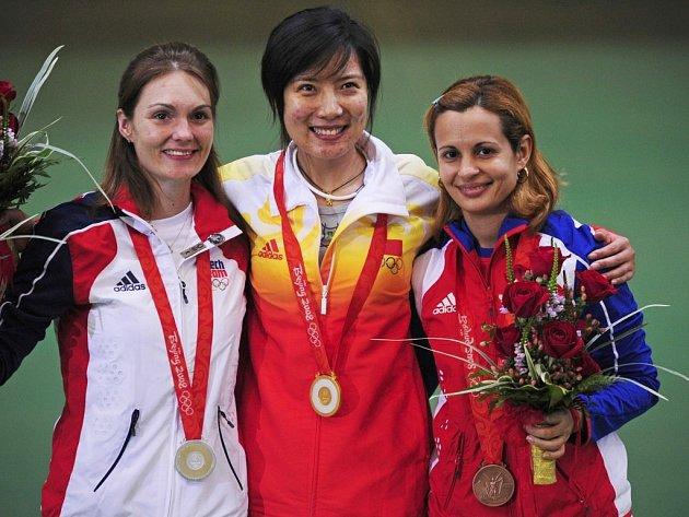 Kateřina Emmons vybojovala svou druhou medaili na pekingských hrách.