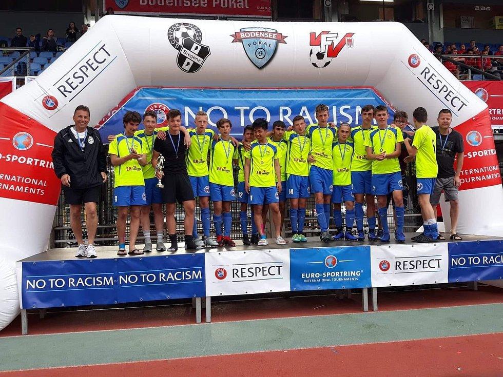 Úžasní kluci U17 Tachov získali 2. místo na turnaji Bodensee Pokal 2019 v Rakousku.