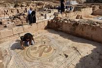 Byzantská bazilika objevená v izraelském městě Bejt Šemeš