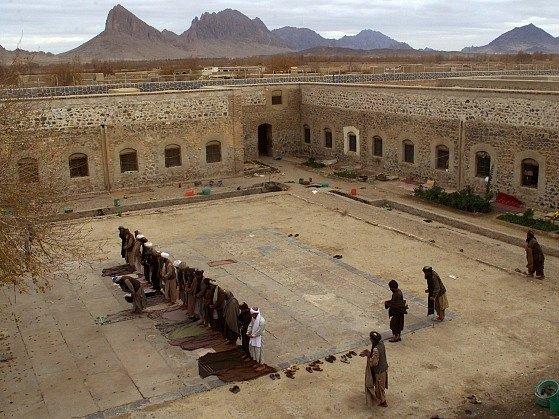 Věznice v afghánském Kandaháru. Ilustrační foto
