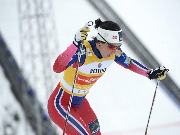Marit Björgenová si triumfem ve sprintu v Lahti zajistila celkové vítězství v SP.