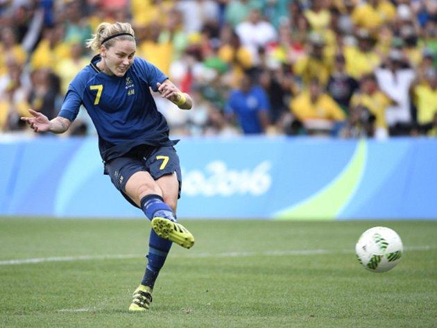 Lisa Dahlkvistová ze Švédska.
