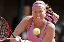 Petra Kvitová postoupila na French Open do osmifinále.