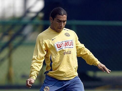 Paraguayský fotbalista Salvador Cabaňas.